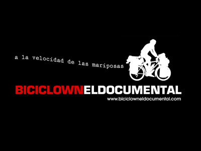 "Disseny logotip documental ""Biciclown, a la velocidad de las mariposas"""