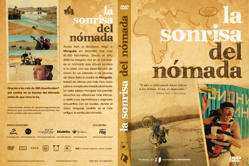 "Disseny packaging documental ""La Sonrisa del Nómada"""